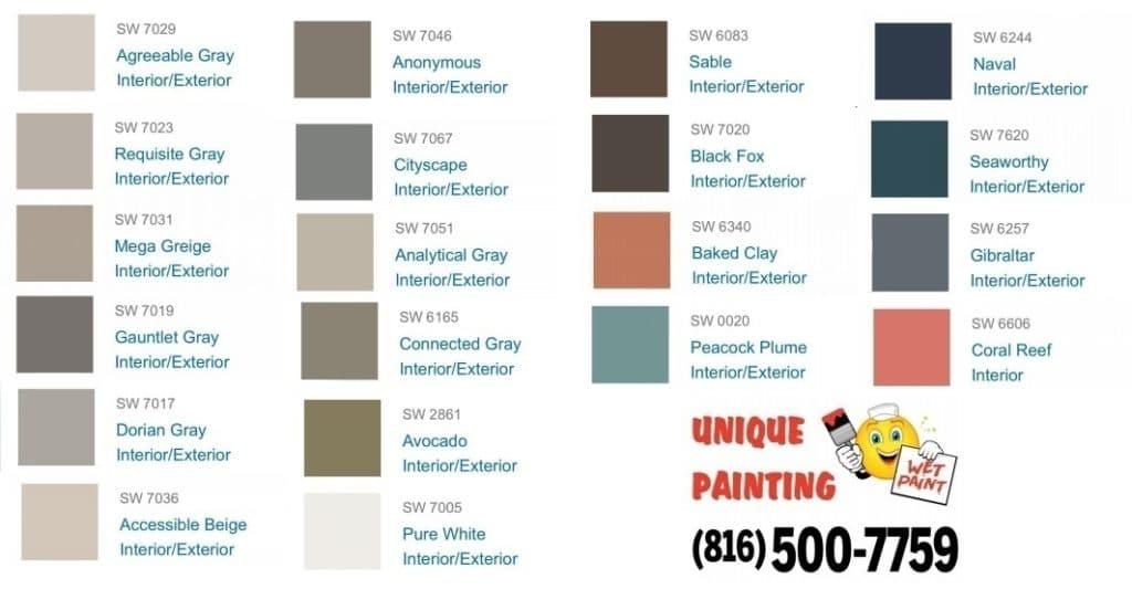 Surprising Unique Painting Kc 2019 Color Trends Forecast Unique Download Free Architecture Designs Itiscsunscenecom